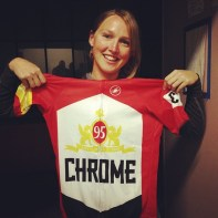 Winner of the Chrome coveted jersey